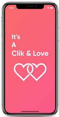Romantic-Agency application - Clik & Love